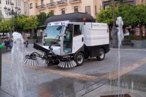 Limpieza con Barredoras